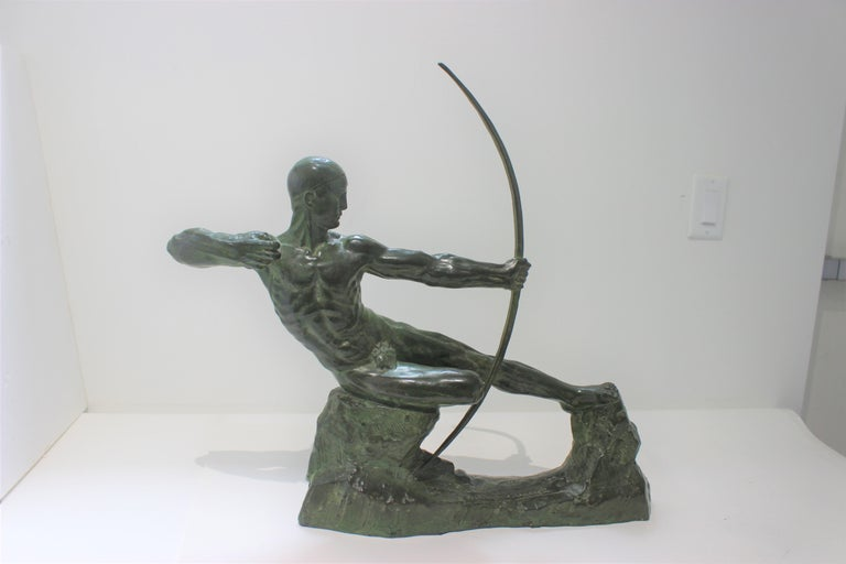 This stylish, large scale bronze is know as