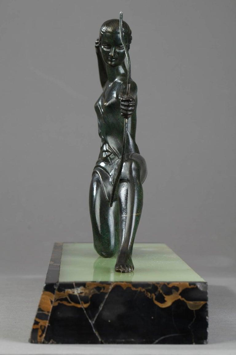 French Art Deco Bronze Sculpture
