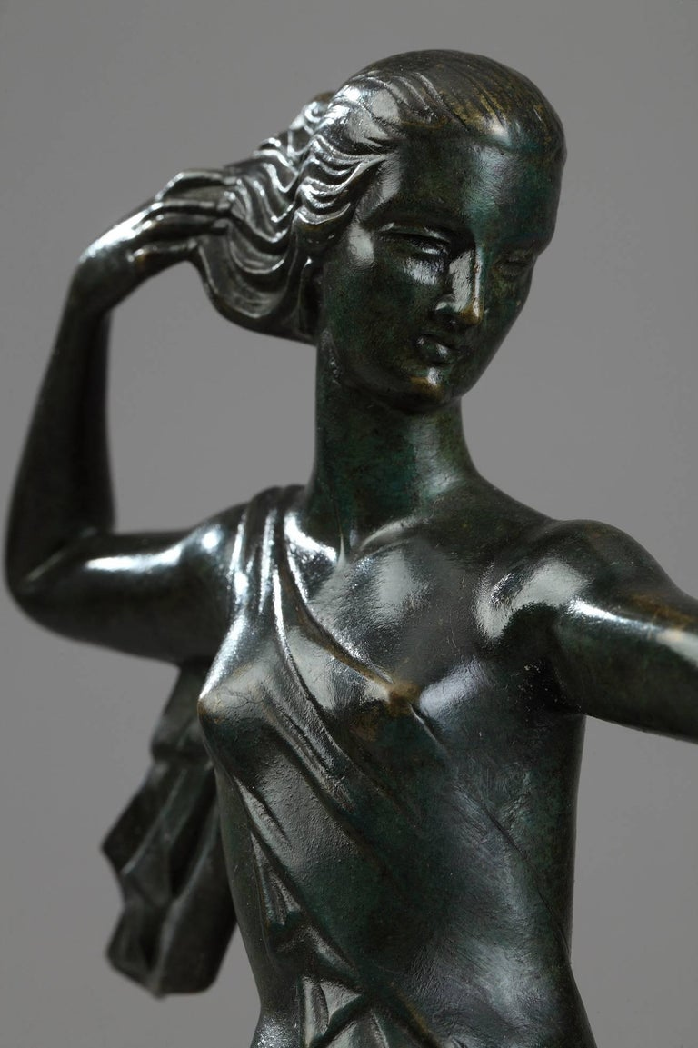 20th Century Art Deco Bronze Sculpture