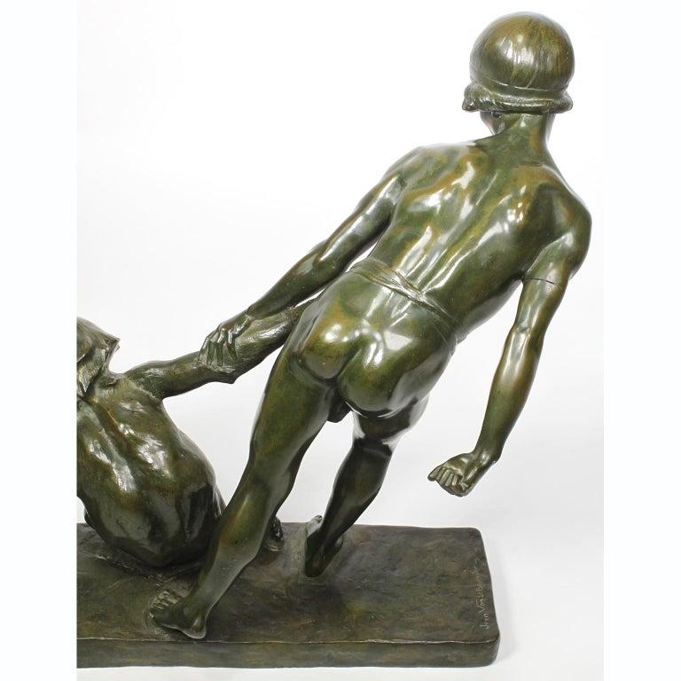 Art-Deco Bronze