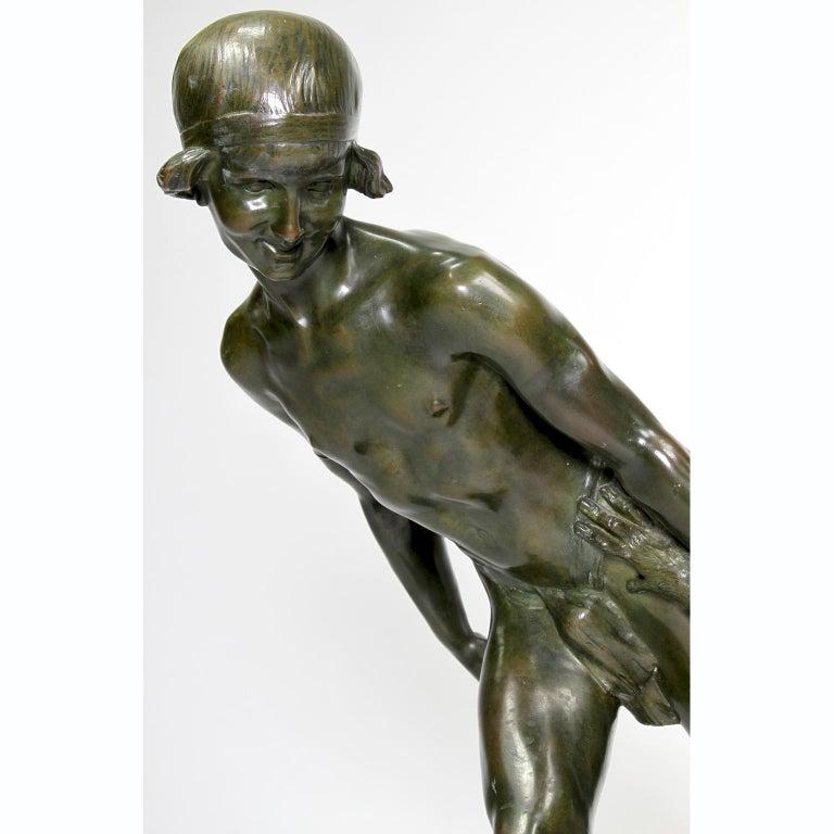 Patinated Art-Deco Bronze