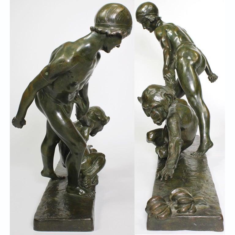 Early 20th Century Art-Deco Bronze