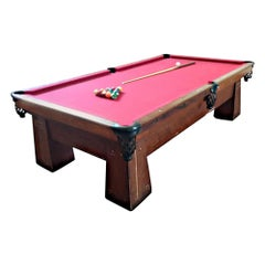 Art Deco Brunswick Metropolitan No. 248 Billiard Table