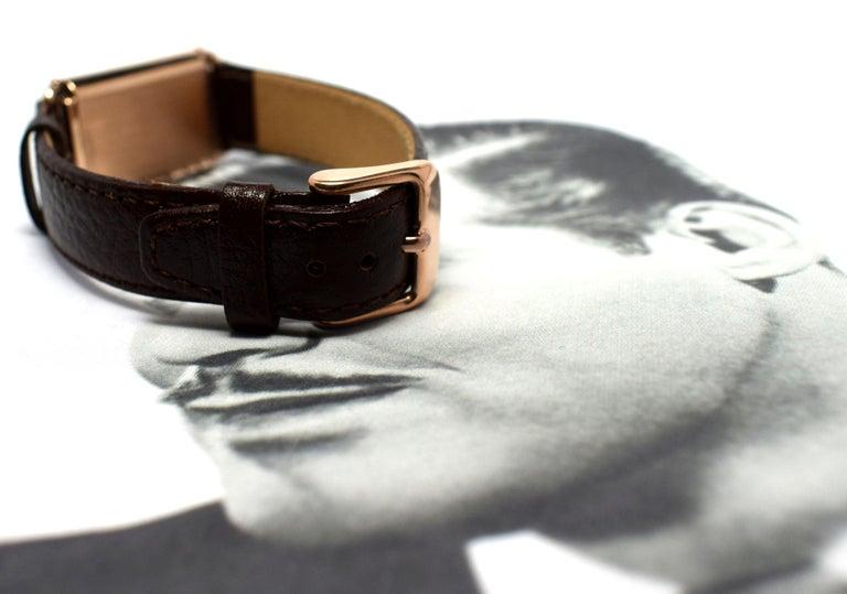 Art Deco Bulova WW2 14 Karat Gold, 21 Jewels, Gents Wrist Watch, Newly Serviced For Sale 8