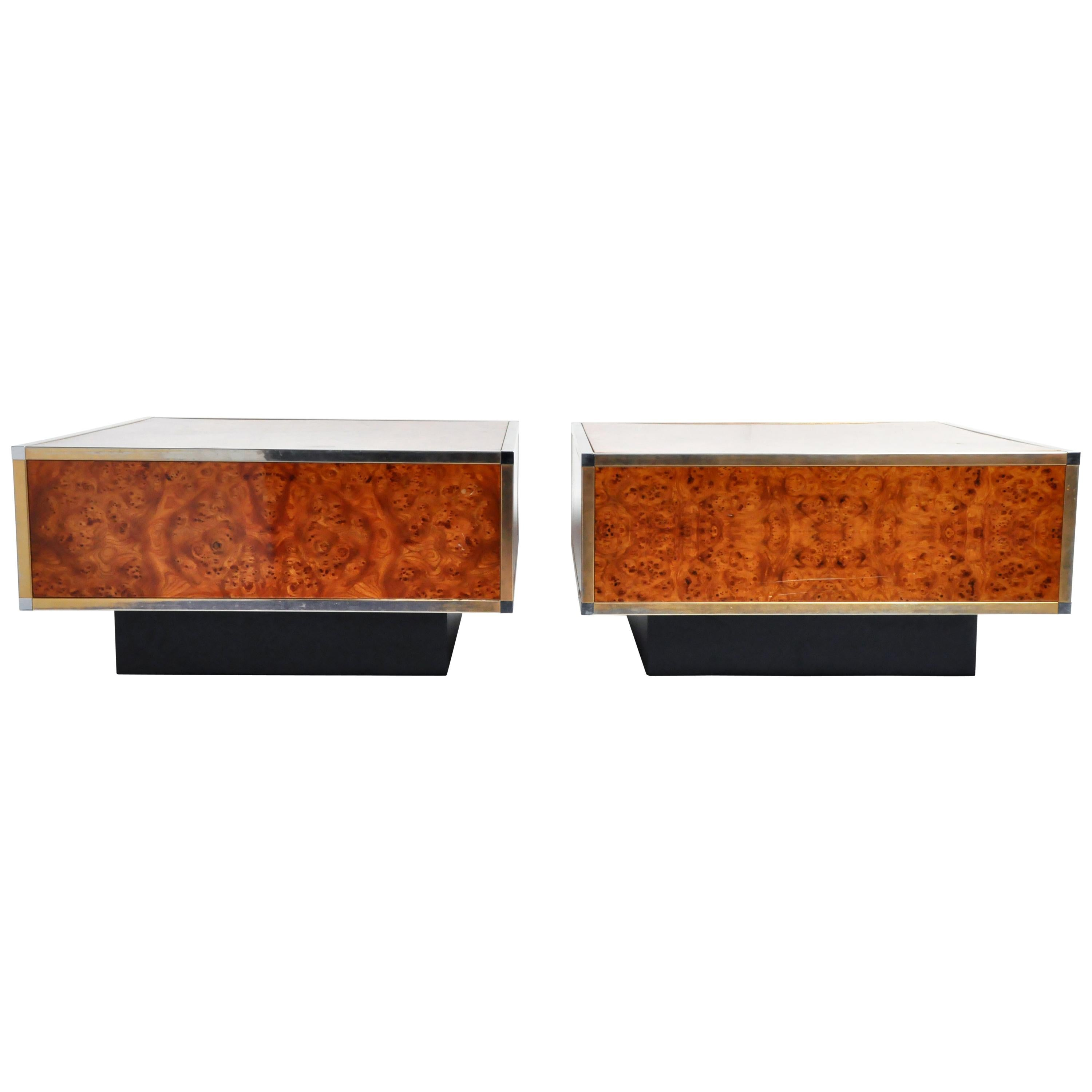 Burl coffee and cocktail tables 133 for sale at 1stdibs
