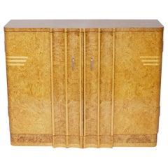 Art Deco Cabinet by Harry & Lou Epstein English, circa 1930
