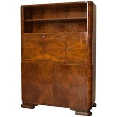Art Deco Cabinet by Jindrich Halabala