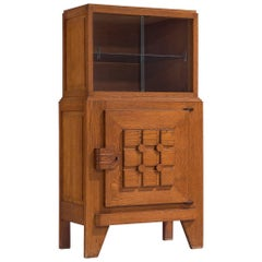 Art Deco Cabinet in Oak
