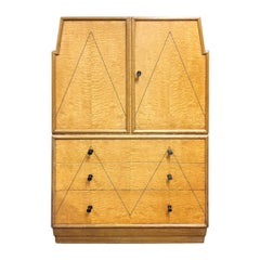 Art Deco Cabinet with Drawers Attributed to Sir Ambrose Heal