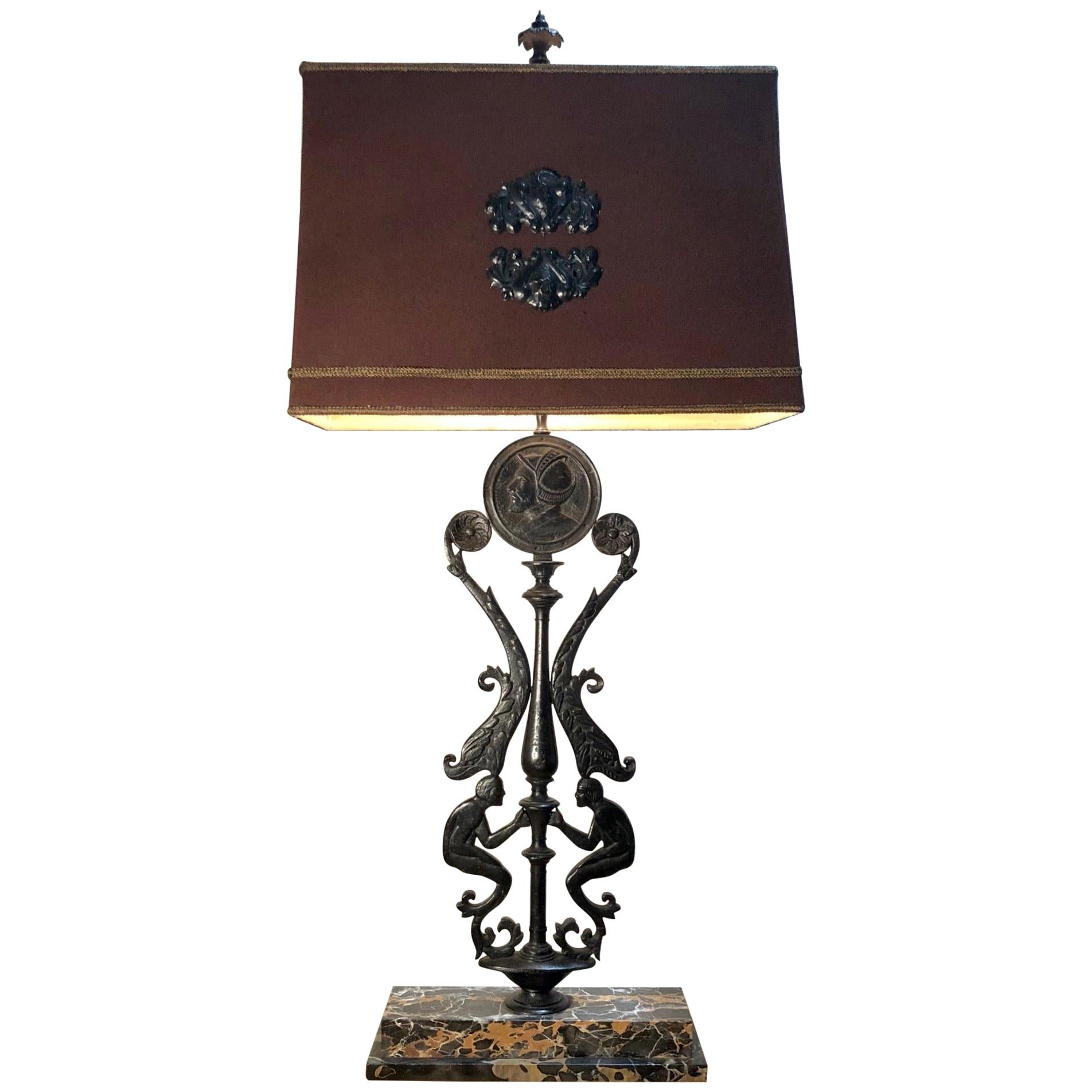 Art Deco Caldwell Bronze Lamp