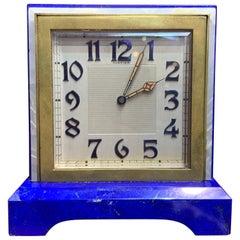 "Art Deco Cartier ""Partner"" Desk Clock"