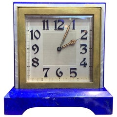 "Art Deco Cartier ""Partner"" Desk Clock"