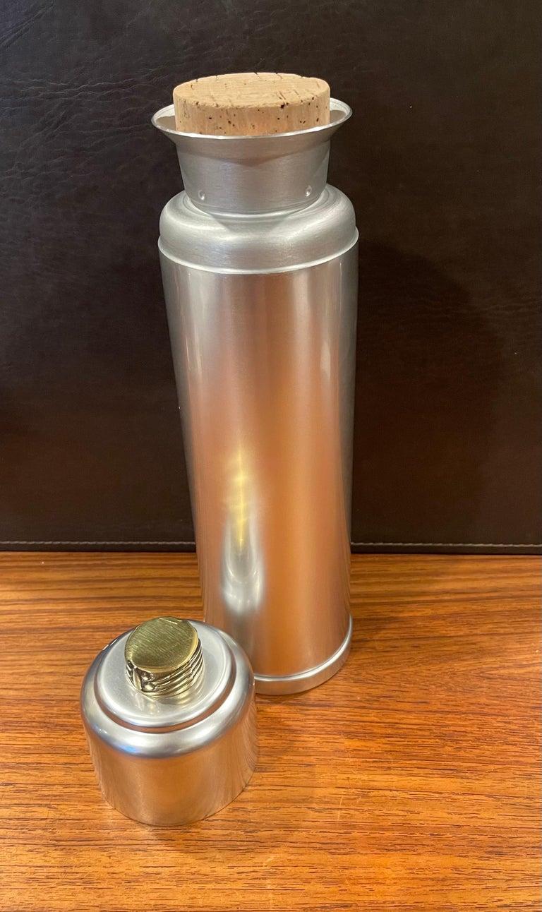 Art Deco Cast Aluminum Martini Shaker by Kensington For Sale 6
