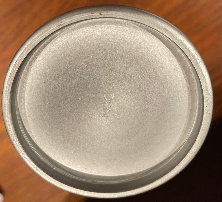 Art Deco Cast Aluminum Martini Shaker by Kensington For Sale 4