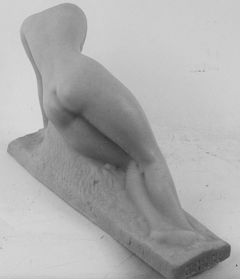 Mid-20th Century Art Deco Cast Marble Stone