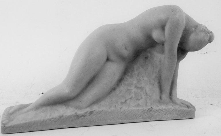 Art Deco Cast Marble Stone
