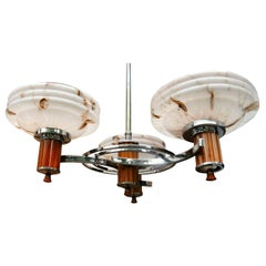 Art Deco Catalin Bakelite Ceiling Light, circa 1930