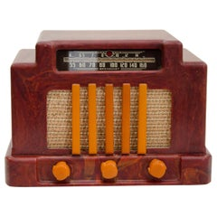 Art Deco Catalin Radio, Addison Model 5D