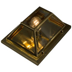 Art Deco Ceiling Lamp or Wall Lamp, circa 1920s
