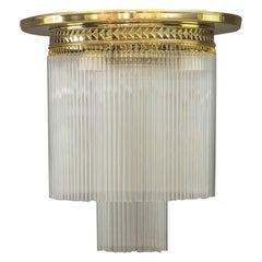 Art Deco Ceiling Lamp Vienna Around 1920s