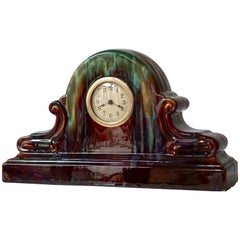 Art Deco Ceramic Clock