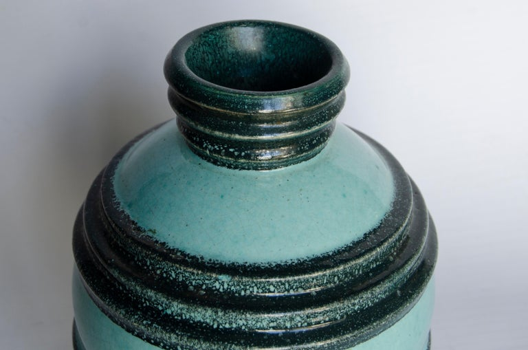 Art Deco Ceramic Manufactures Boulogne Artist Andre Fau In Good Condition For Sale In Buenos Aires, Argentina