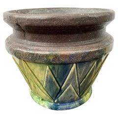 Art Deco Ceramic Planter
