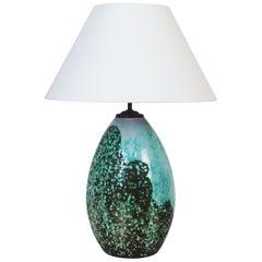 Art Deco Ceramic Table Lamp by Primavera