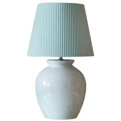 Art Deco Ceramic Table Lamp