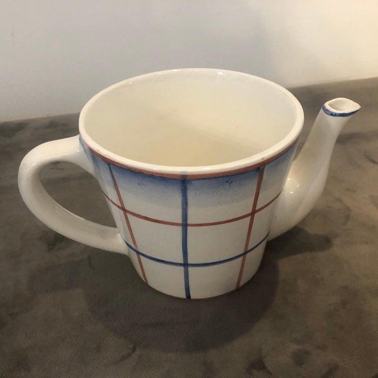 Art Deco Ceramic Tea Set Designed by Gio Ponti for Richard Ginori, circa 1930 For Sale 3