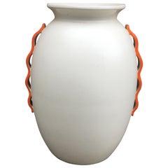 Art Deco Ceramic Vase, Belgium, circa 1930
