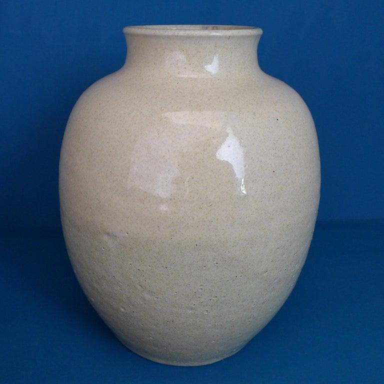 Art Deco Ceramic Vase by Chris Lanooy For Sale 3