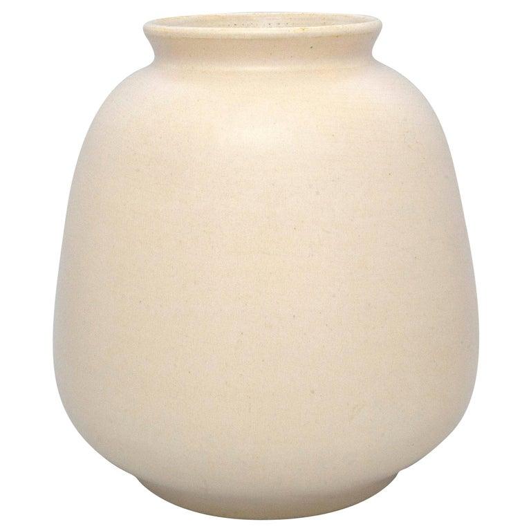 Art Deco Ceramic Vase For Sale
