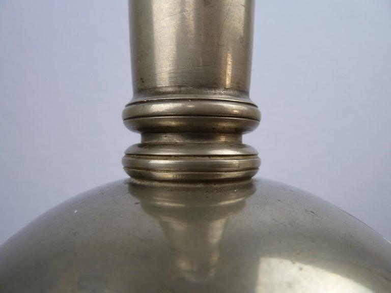 Art Deco C. G. Hallberg Svenskt Tenn Pewter Table Lamp, Sweden For Sale 6