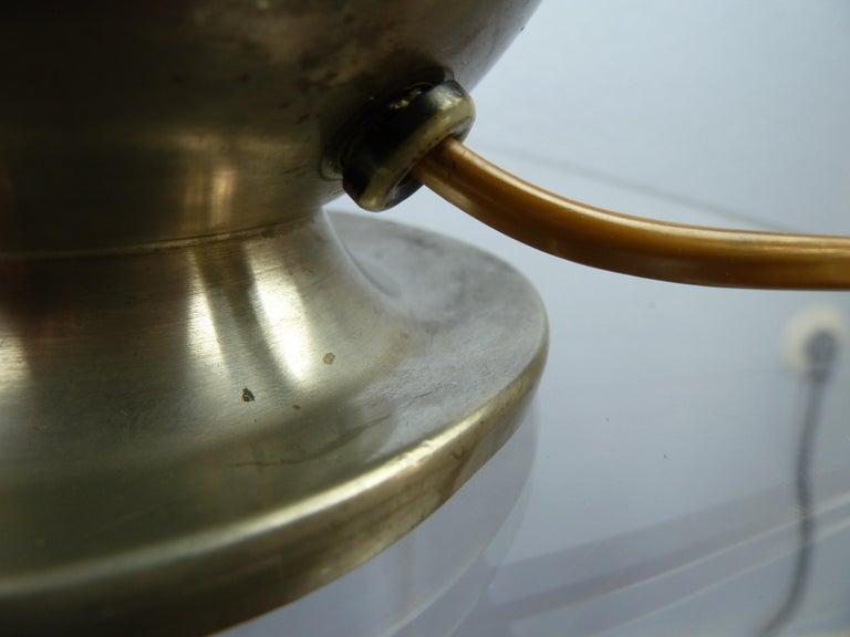 Art Deco C. G. Hallberg Svenskt Tenn Pewter Table Lamp, Sweden For Sale 10