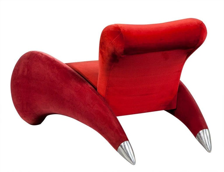 Modern Red Art Deco Chaise Longue For Sale at 1stdibs on chaise recliner chair, chaise sofa sleeper, chaise furniture,