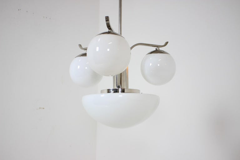 Art Deco Chandelier, 1930s For Sale 4