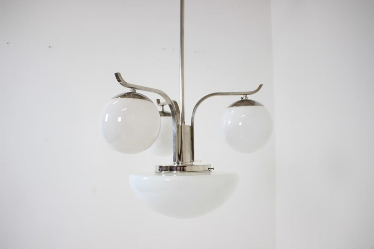 Art Deco Chandelier, 1930s For Sale 3