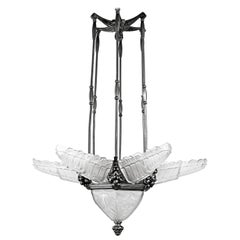 Art Deco Chandelier by Sabino