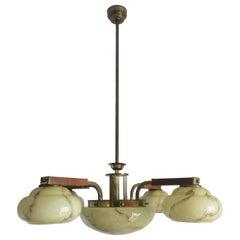 Art Deco Chandelier from 1940