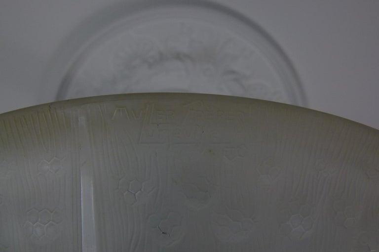 Art Deco Chandelier Signed Muller Frères For Sale 9