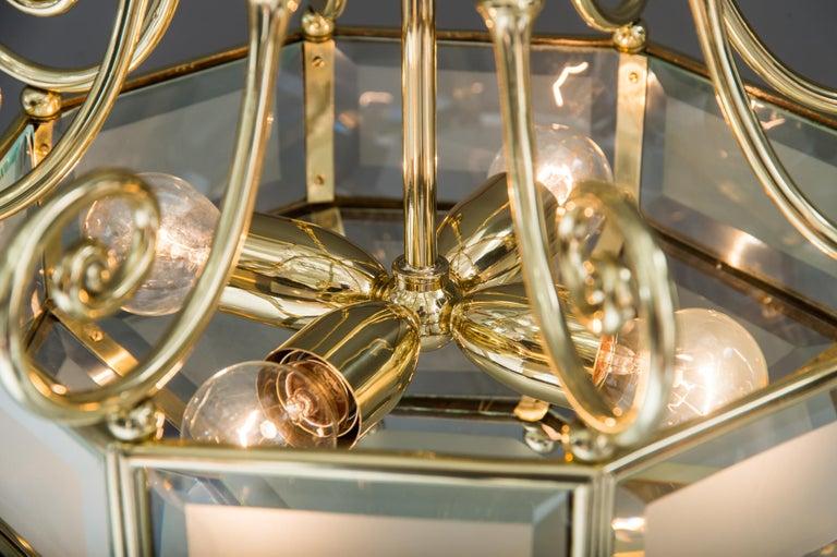 Art Deco chandelier, Vienna, circa 1920s For Sale 6