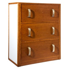 Art Deco Chest of Drawers, Manufactory Herrgesell, Vienna, 1930s-1940s