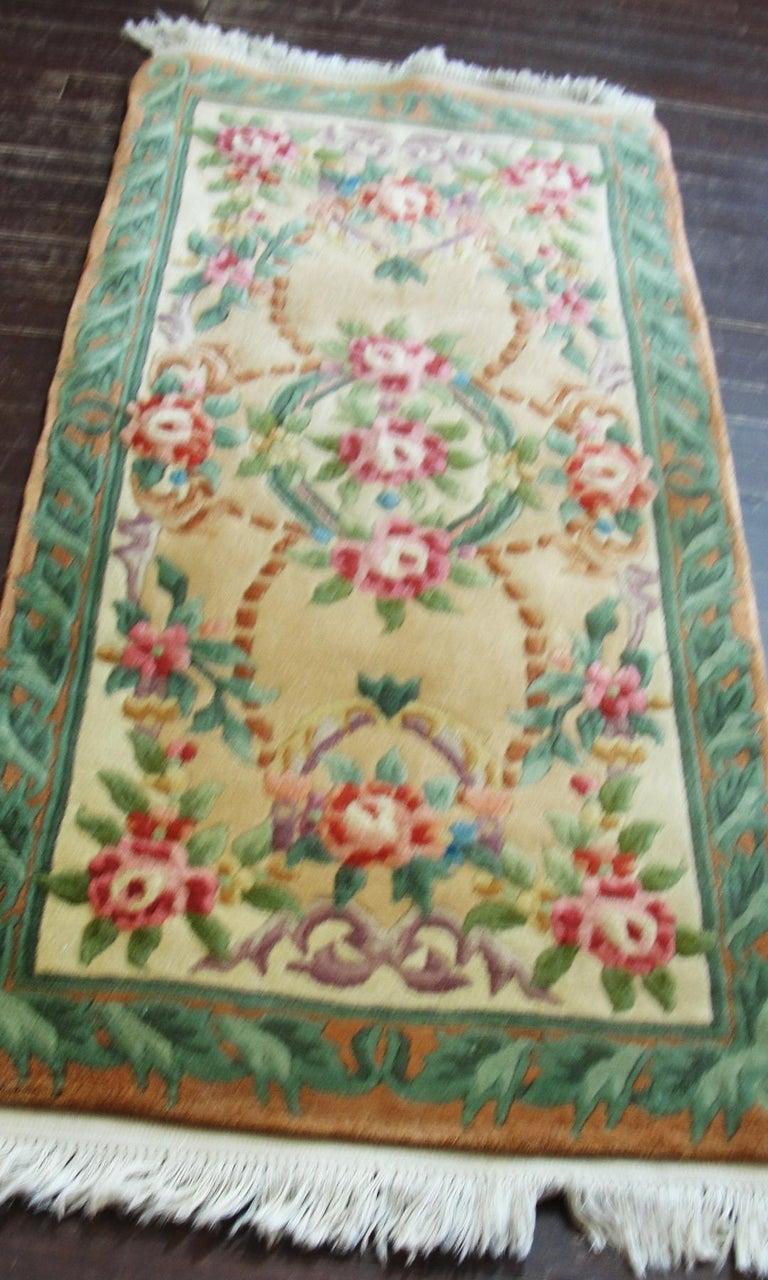 20th Century Art Deco Chinese Rug For Sale