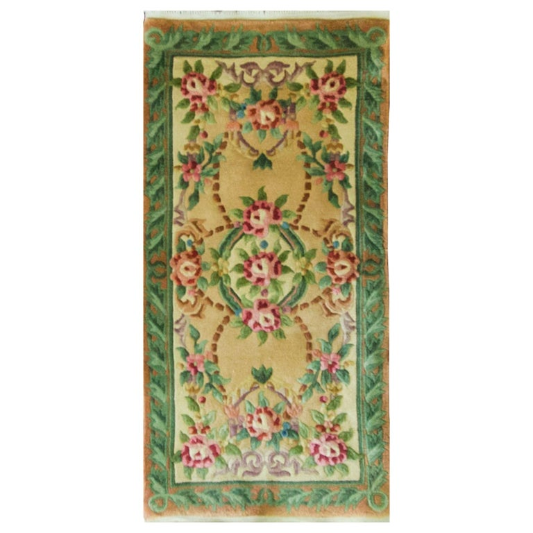 Art Deco Chinese Rug For Sale