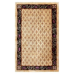 Art Deco Chinese Rug. Size: 5 ft 4 in x 8 ft 8 in (1.63 m x 2.64 m)