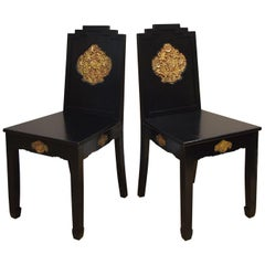 Art Deco Chinoiserie Chairs