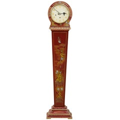 Art Deco Chinoiserie Decorated Grandmother Clock
