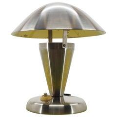 Art Deco Chrome Bauhaus Table Lamps, 1930s