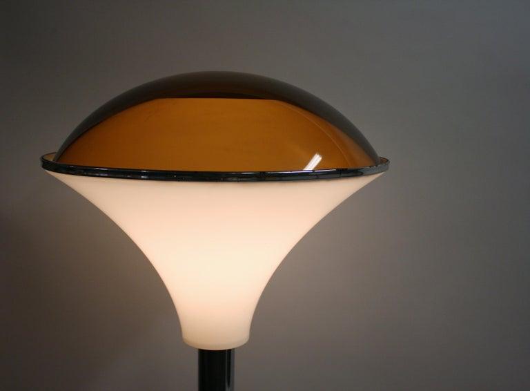 Art Deco Chrome Mushroom Floor Lamp, 1930s 10